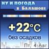 Ну и погода в Балашове - Поминутный прогноз погоды